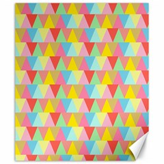 Triangle Pattern Canvas 20  X 24  (unframed) by Kathrinlegg