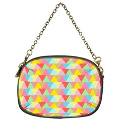 Triangle Pattern Chain Purse (one Side) by Kathrinlegg