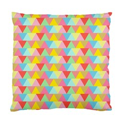 Triangle Pattern Cushion Case (single Sided)  by Kathrinlegg