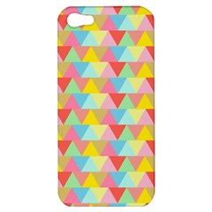 Triangle Pattern Apple Iphone 5 Hardshell Case by Kathrinlegg
