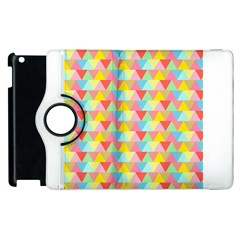 Triangle Pattern Apple Ipad 2 Flip 360 Case by Kathrinlegg