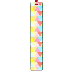 Triangle Pattern Large Bookmark by Kathrinlegg