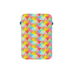 Triangle Pattern Apple Ipad Mini Protective Sleeve by Kathrinlegg