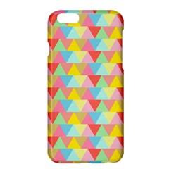 Triangle Pattern Apple Iphone 6 Plus Hardshell Case by Kathrinlegg