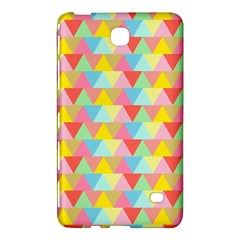 Triangle Pattern Samsung Galaxy Tab 4 (7 ) Hardshell Case