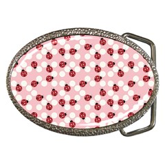 Spot The Ladybug Belt Buckle (oval) by Kathrinlegg