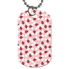 Spot The Ladybug Dog Tag (two Sided)  by Kathrinlegg