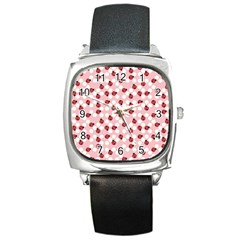 Spot The Ladybug Square Leather Watch by Kathrinlegg