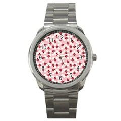 Spot The Ladybug Sport Metal Watch by Kathrinlegg