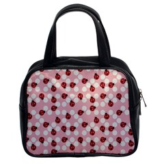 Spot The Ladybug Classic Handbag (two Sides) by Kathrinlegg