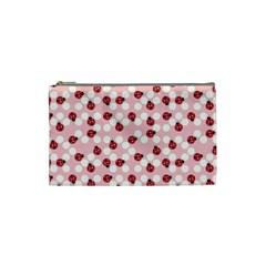 Spot The Ladybug Cosmetic Bag (small) by Kathrinlegg