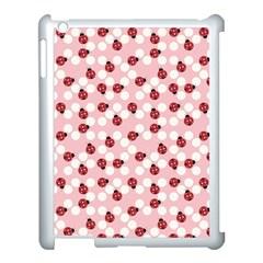 Spot The Ladybug Apple Ipad 3/4 Case (white) by Kathrinlegg