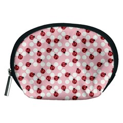 Spot The Ladybug Accessory Pouch (medium) by Kathrinlegg