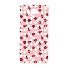Spot The Ladybug Samsung Galaxy Alpha Hardshell Back Case by Kathrinlegg