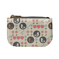 Love Birds Coin Change Purse by Kathrinlegg