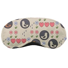 Love Birds Sleeping Mask by Kathrinlegg