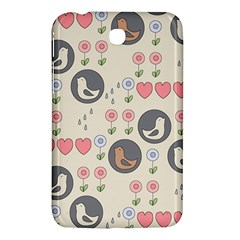 Love Birds Samsung Galaxy Tab 3 (7 ) P3200 Hardshell Case  by Kathrinlegg