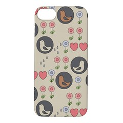 Love Birds Apple iPhone 5S Hardshell Case by Kathrinlegg