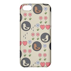 Love Birds Apple Iphone 5c Hardshell Case by Kathrinlegg