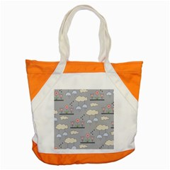 Garden in the Sky Accent Tote Bag by Kathrinlegg