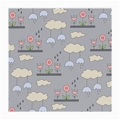 Garden In The Sky Glasses Cloth (medium, Two Sided) by Kathrinlegg