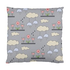 Garden In The Sky Cushion Case (two Sided)  by Kathrinlegg