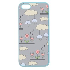 Garden In The Sky Apple Seamless Iphone 5 Case (color) by Kathrinlegg