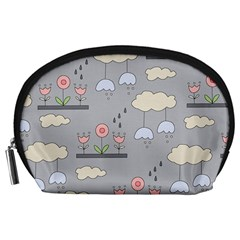 Garden In The Sky Accessory Pouch (large) by Kathrinlegg