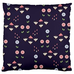 Summer Garden Large Cushion Case (two Sided)  by Kathrinlegg