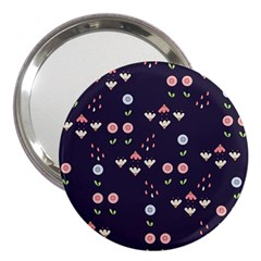 Summer Garden 3  Handbag Mirror by Kathrinlegg