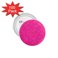 Abstract Stars In Hot Pink 1 75  Button (100 Pack) by StuffOrSomething