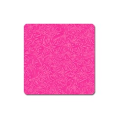 Abstract Stars In Hot Pink Magnet (square) by StuffOrSomething