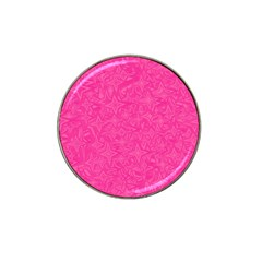 Abstract Stars In Hot Pink Golf Ball Marker 10 Pack (for Hat Clip) by StuffOrSomething