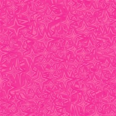 Abstract Stars In Hot Pink Canvas 12  X 12  (unframed) by StuffOrSomething