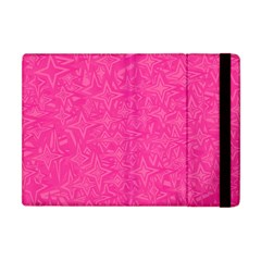 Abstract Stars In Hot Pink Apple Ipad Mini Flip Case by StuffOrSomething