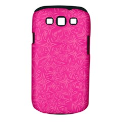 Abstract Stars In Hot Pink Samsung Galaxy S Iii Classic Hardshell Case (pc+silicone) by StuffOrSomething