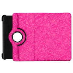 Abstract Stars In Hot Pink Kindle Fire Hd Flip 360 Case by StuffOrSomething