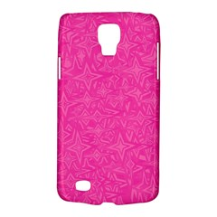 Abstract Stars In Hot Pink Samsung Galaxy S4 Active (i9295) Hardshell Case by StuffOrSomething