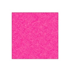 Abstract Stars In Hot Pink Satin Bandana Scarf by StuffOrSomething