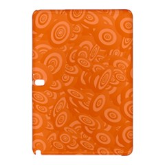 Orange Abstract 45s Samsung Galaxy Tab Pro 10 1 Hardshell Case by StuffOrSomething