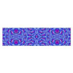 Decorative Ornate Print 2 Satin Scarf (oblong)