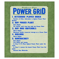Power Grid Bags (m)   Blue By Andrew   Drawstring Pouch (medium)   Nqa64pxqzudl   Www Artscow Com Front