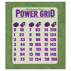 Power Grid Bags (m)   Purple By Andrew   Drawstring Pouch (medium)   Dw4yk81ejntg   Www Artscow Com Back