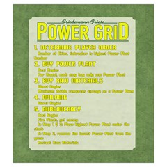 Power Grid Bags (m)   Yellow By Andrew   Drawstring Pouch (medium)   Z0g7usbb1bbn   Www Artscow Com Front