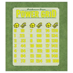 Power Grid Bags (m)   Yellow By Andrew   Drawstring Pouch (medium)   Z0g7usbb1bbn   Www Artscow Com Back