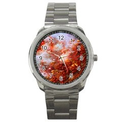 Star Dream Sport Metal Watch by icarusismartdesigns