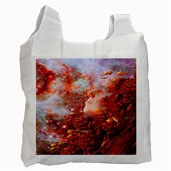 Star Dream White Reusable Bag (One Side) by icarusismartdesigns