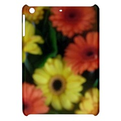 Orange Yellow Daisy Flowers Gerbera Apple Ipad Mini Hardshell Case by yoursparklingshop