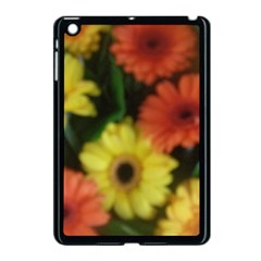 Orange Yellow Daisy Flowers Gerbera Apple Ipad Mini Case (black) by yoursparklingshop