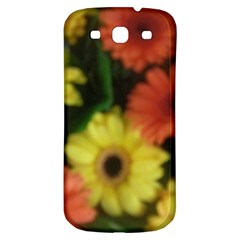 Orange Yellow Daisy Flowers Gerbera Samsung Galaxy S3 S Iii Classic Hardshell Back Case by yoursparklingshop